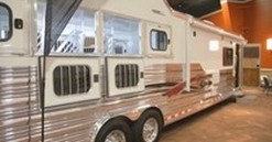 Cowgirl Corner: horse trailers you won't believe