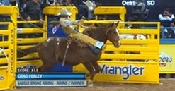 Round Two Video Highlights: 2013 Wrangler National Finals Rodeo