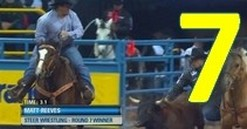 Round 7 Video Highlights: 2013 Wrangler National Finals Rodeo