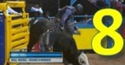 Round 8 Video Highlights: 2013 Wrangler National Finals Rodeo