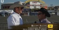 Cowboy Corral: 2013 Wrangler NFR Round 1 Saddle Bronc Riding