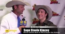 Sage Steele Kimzey: Winner Xtreme Bulls and PRCA Rodeo at San Antonio