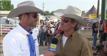 PRCA Commissioner Karl Stressman at Red Bluff Round-Up
