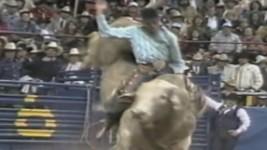 Lane Frost's 1987 NFR Win