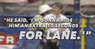 Tuff Hedeman S Quot Ride For Lane Quot