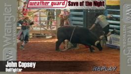 WEATHER GUARD® Save of the Night – Seminole Classic Xtreme Bulls – February 15, 2015
