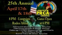 25th Annual Longview PRCA Rodeo