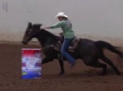 NBHA TX State Finals: Valinda Moore Rides Dashin Tarahumara