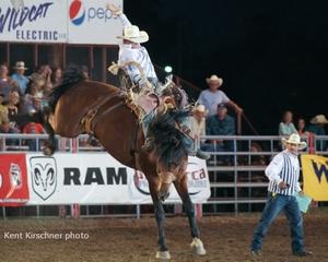 Diaz Sets Dodge City Round-Up Arena Record