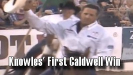 Trevor Knowles Wins His First Caldwell Night Rodeo