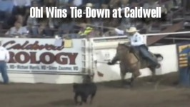Cody Ohl Wins Tie-Down at 2015 Caldwell Night Rodeo