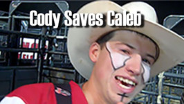 WEATHER GUARD® Save of the Night – Caldwell Night Rodeo, Friday, August 21, 2015