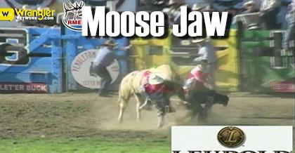 Taking a Shot to the Moose Jaw at 2015 Pendleton Round-Up