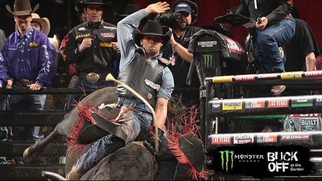 Brazilian rider Paulo Lima captured last weekend's Buck Off at the Garden