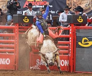Kimzey Keeps Winning at San Antonio Stock Show Rodeo