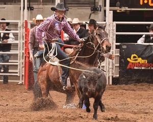 World Champion Tie-Down Roper Advances to San Antonio Rodeo Semifinals