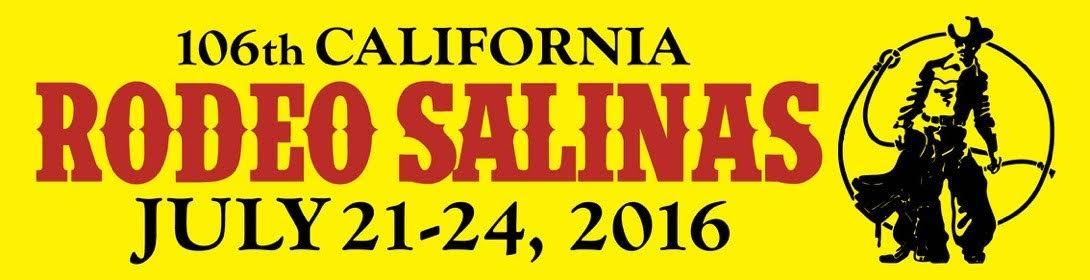 California Rodeo Salinas Bumper Sticker