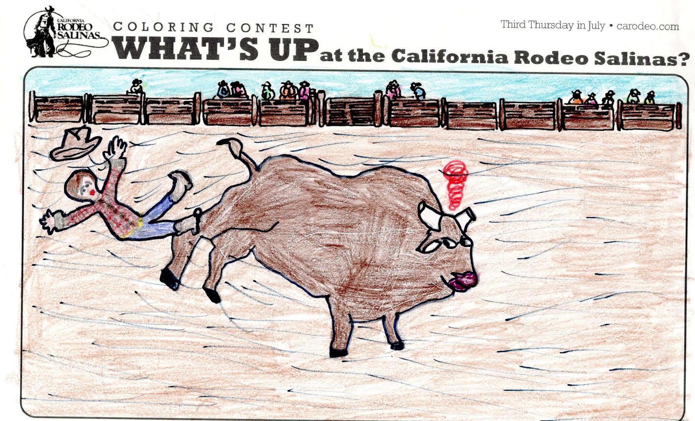 California Rodeo Salinas Coloring Contest