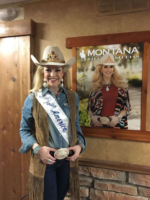 Miss Rodeo America Montana Silversmiths
