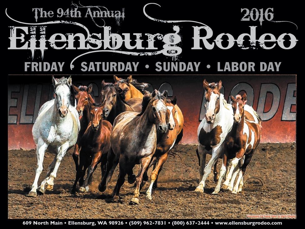 2016 Ellensburg Rodeo Poster