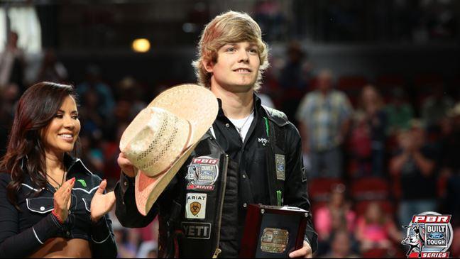 Derek Kolbaba moved into the Top 10 with his win Sunday. Photo: Andy Watson/BullStockMedia.com