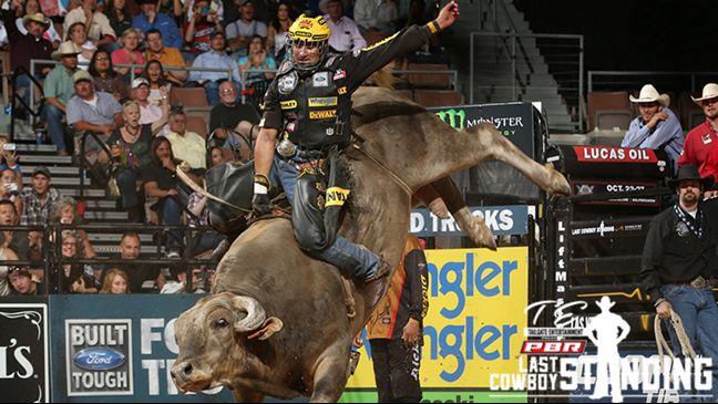 Silvano Alves won consecutive Last Cowboy Standing titles in 2012 and 2013. Photo: Andy Watson/BullStockMedia.com