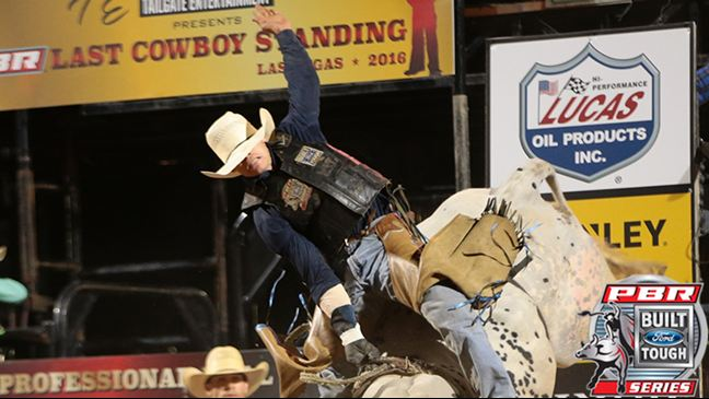Cody Heffernan currently leads the PBR Australian standings. Photo: Andy Watson/BullStockMedia.com