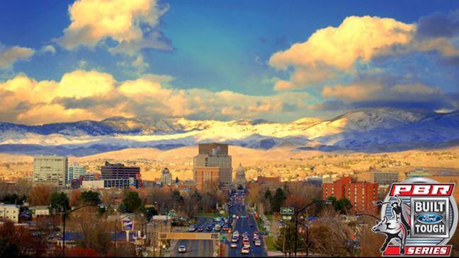 The PBR will buck into Nampa, Idaho