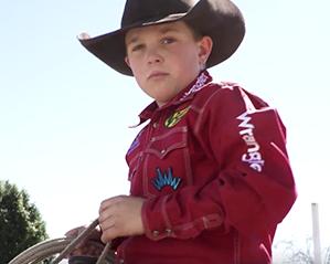 Ten Year Old Rodeo Star Ketch Kelton Wrangler Network