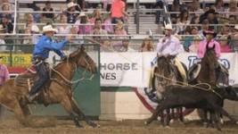 Hunter Herrin Stays Hot, Leads Reno Rodeo