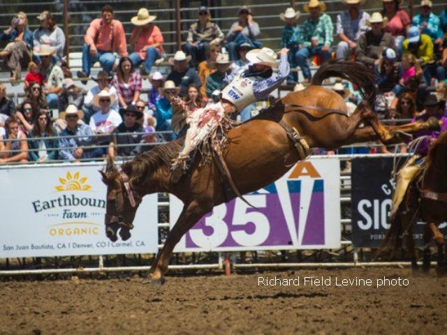 Ratliff Wins Prestigious Salinas Buckle