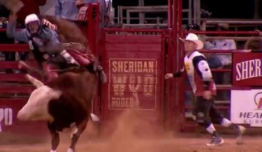 2016 Sheridan WYO Rodeo – Saturday Highlights