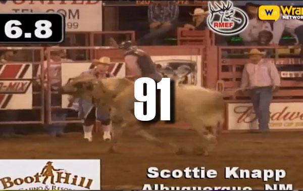 Scottie Knapp Delivers a 91 Saturday at 2016 Dodge City Roundup