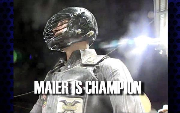 Rorey Maier Wins 2016 Ellensburg Xtreme Bulls Championship