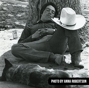 [PHOTO] Jerold Camarillo and his dog OJ taking a siesta.