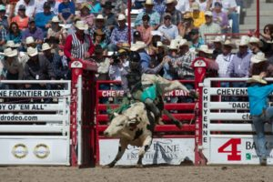 Bull Riding: Roscoe Jarboe