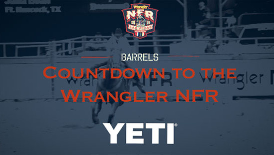 2016 Wrangler NFR Barrels Racers