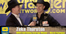 Zeke Thurston is 2016 Saddle Bronc Champion