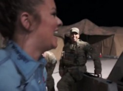 Wrangler National Patriot Tour Day 8: Wrangler Cowgirl Facial Recognition Contest
