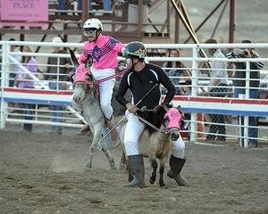 Burelle Brings Fun to Dodge City