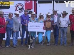 2017 Calgary Stampede World Stock Dog Championship Winner
