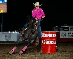 California Cowgirl Takes Barrel Racing Lead At Cody Stampede