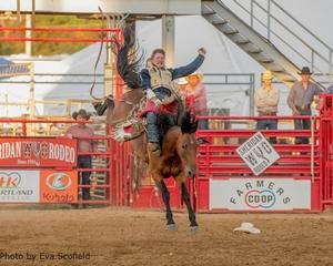 Ty Breuer Wins Sheridan WYO Rodeo
