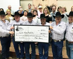 California Rodeo Salinas Presents Local Non-Profits with Checks
