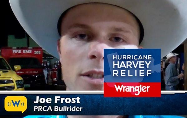 Joe Frost Hurricane Harvey Relief