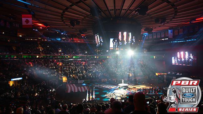 Madison Square Garden Will Host Season Opener Of Pbr S 25th Anniversary Season