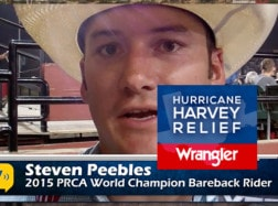 2015 Champion Steven Peebles on Hurricane Relief