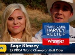 Alexis Bloomer and Sage Kimzey – Hurricane Harvey Relief