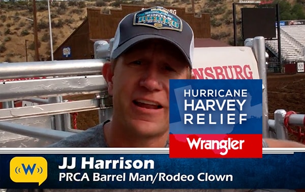 JJ Harrison on Harvey Relief