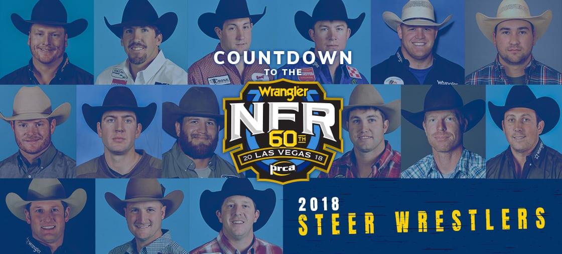 2019 Wrangler Nfr Steer Wrestlers Wrangler